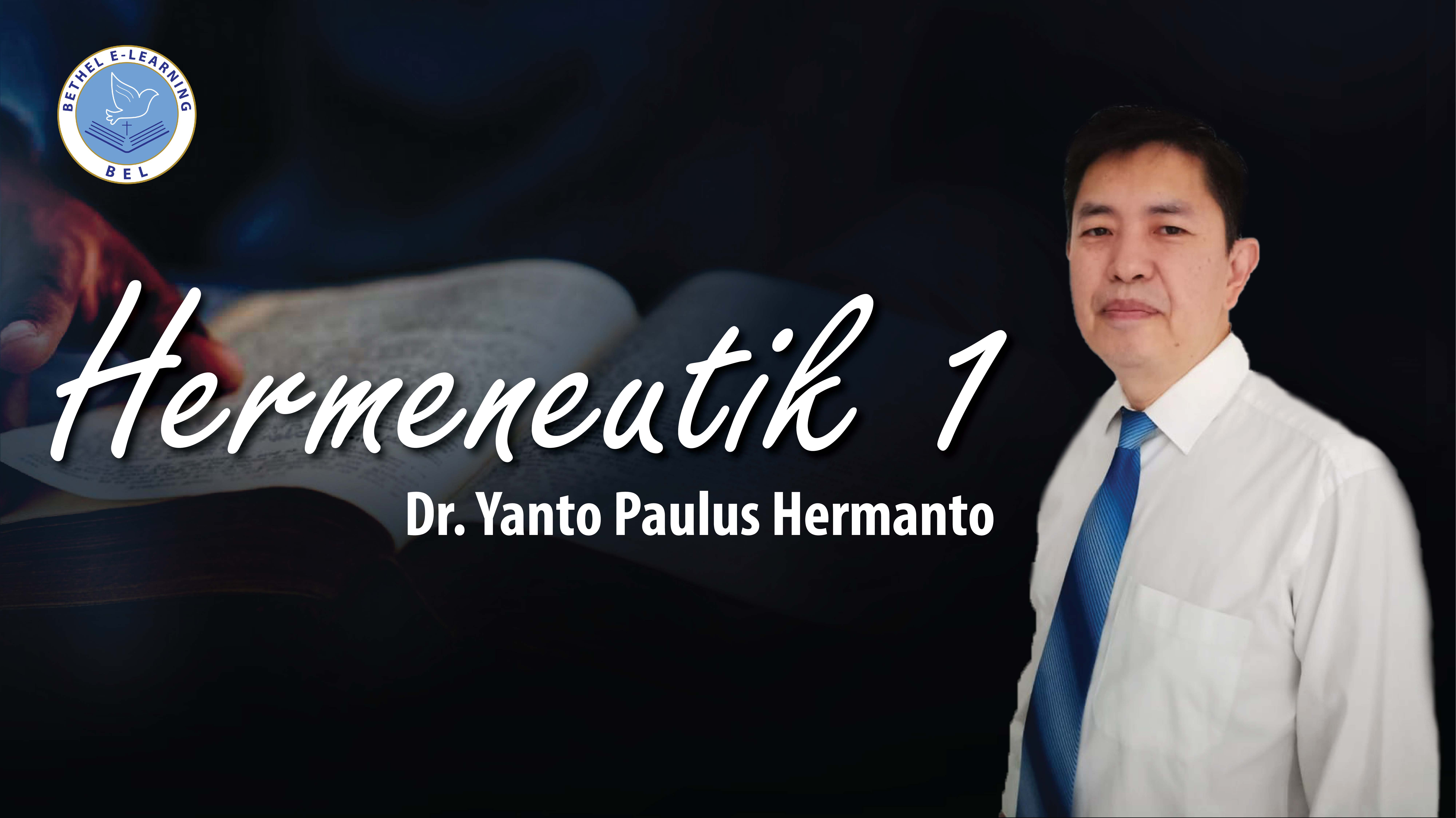 Hermeneutik 1